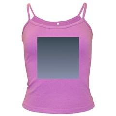 Charcoal To Cool Gray Gradient Spaghetti Top (colored)