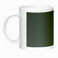 Charcoal To Cool Gray Gradient Glow in the Dark Mug