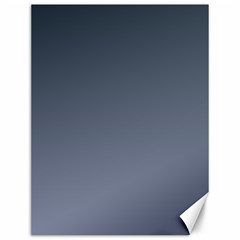 Charcoal To Cool Gray Gradient Canvas 12  x 16  (Unframed)