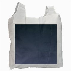 Charcoal To Cool Gray Gradient Recycle Bag (One Side)