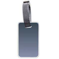 Charcoal To Cool Gray Gradient Luggage Tag (One Side)