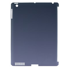 Charcoal To Cool Gray Gradient Apple Ipad 3/4 Hardshell Case (compatible With Smart Cover)