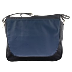Charcoal To Cool Gray Gradient Messenger Bag