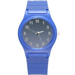 Charcoal To Cool Gray Gradient Plastic Sport Watch (Small)