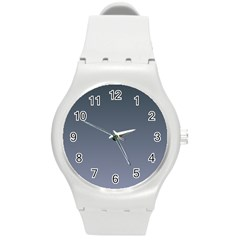 Charcoal To Cool Gray Gradient Plastic Sport Watch (Medium)