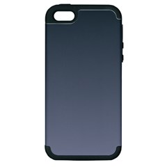 Charcoal To Cool Gray Gradient Apple iPhone 5 Hardshell Case (PC+Silicone)