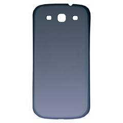 Charcoal To Cool Gray Gradient Samsung Galaxy S3 S III Classic Hardshell Back Case