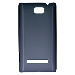 Charcoal To Cool Gray Gradient HTC 8S Hardshell Case