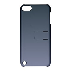 Charcoal To Cool Gray Gradient Apple Ipod Touch 5 Hardshell Case With Stand
