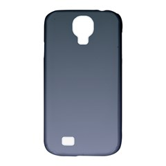 Charcoal To Cool Gray Gradient Samsung Galaxy S4 Classic Hardshell Case (PC+Silicone)