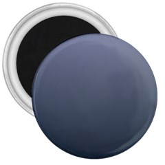 Cool Gray To Charcoal Gradient 3  Button Magnet