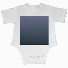 Cool Gray To Charcoal Gradient Infant Creeper