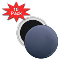 Cool Gray To Charcoal Gradient 1.75  Button Magnet (10 pack)