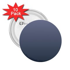 Cool Gray To Charcoal Gradient 2.25  Button (10 pack)