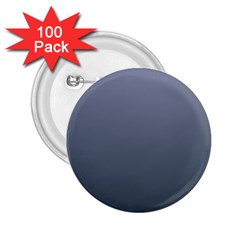 Cool Gray To Charcoal Gradient 2.25  Button (100 pack)