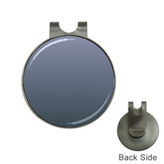 Cool Gray To Charcoal Gradient Hat Clip with Golf Ball Marker