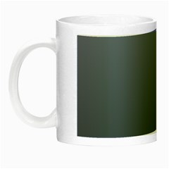 Cool Gray To Charcoal Gradient Glow In The Dark Mug