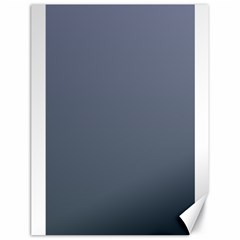 Cool Gray To Charcoal Gradient Canvas 18  x 24  (Unframed)