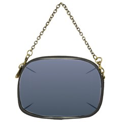 Cool Gray To Charcoal Gradient Chain Purse (one Side)