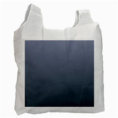 Cool Gray To Charcoal Gradient Recycle Bag (One Side)