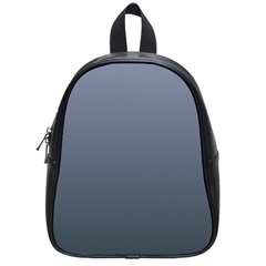 Cool Gray To Charcoal Gradient School Bag (Small)