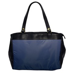 Cool Gray To Charcoal Gradient Oversize Office Handbag (one Side)