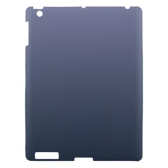 Cool Gray To Charcoal Gradient Apple Ipad 3/4 Hardshell Case