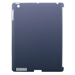 Cool Gray To Charcoal Gradient Apple Ipad 3/4 Hardshell Case (compatible With Smart Cover)