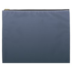 Cool Gray To Charcoal Gradient Cosmetic Bag (xxxl)