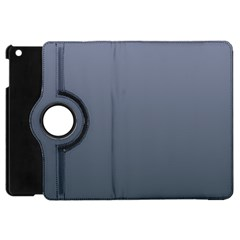 Cool Gray To Charcoal Gradient Apple iPad Mini Flip 360 Case