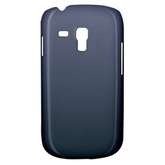 Cool Gray To Charcoal Gradient Samsung Galaxy S3 MINI I8190 Hardshell Case