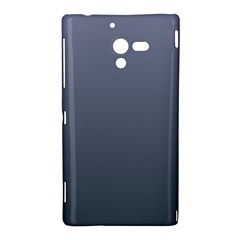 Cool Gray To Charcoal Gradient Sony Xperia ZL L35H Hardshell Case