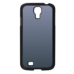 Cool Gray To Charcoal Gradient Samsung GALAXY S4 I9500 (Black)