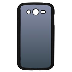 Cool Gray To Charcoal Gradient Samsung I9082(Galaxy Grand DUOS)(Black)