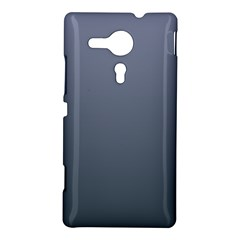 Cool Gray To Charcoal Gradient Sony Xperia Sp M35H Hardshell Case