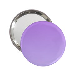 Lavender To Pale Lavender Gradient Handbag Mirror (2.25 )