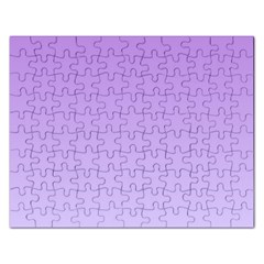 Lavender To Pale Lavender Gradient Jigsaw Puzzle (Rectangle)