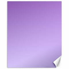 Lavender To Pale Lavender Gradient Canvas 16  x 20  (Unframed)