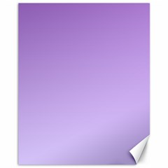 Lavender To Pale Lavender Gradient Canvas 11  x 14  (Unframed)