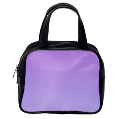 Lavender To Pale Lavender Gradient Classic Handbag (One Side)
