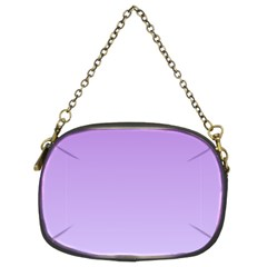 Lavender To Pale Lavender Gradient Chain Purse (Two Side)