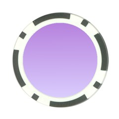 Lavender To Pale Lavender Gradient Poker Chip 10 Pack