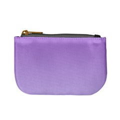 Lavender To Pale Lavender Gradient Coin Change Purse