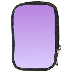 Lavender To Pale Lavender Gradient Compact Camera Leather Case