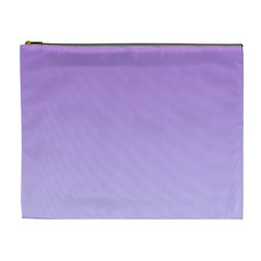 Lavender To Pale Lavender Gradient Cosmetic Bag (XL)
