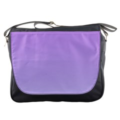 Lavender To Pale Lavender Gradient Messenger Bag