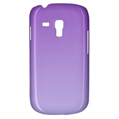 Lavender To Pale Lavender Gradient Samsung Galaxy S3 Mini I8190 Hardshell Case