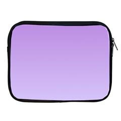 Lavender To Pale Lavender Gradient Apple iPad 2/3/4 Zipper Case