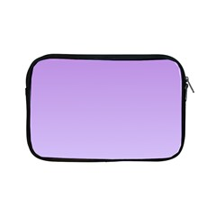 Lavender To Pale Lavender Gradient Apple iPad Mini Zipper Case