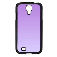 Lavender To Pale Lavender Gradient Samsung GALAXY S4 I9500 (Black)